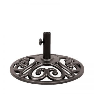35lb Black Umbrella Base (Black) | Umbrella Base | Shop | Paddy O' Furniture