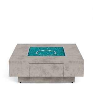 Bodega All Aluminium Square Firepits | Shop | Paddy O' Furniture