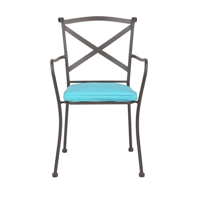 CAFE CHAIR WITH SUNBRELLA CUSHION