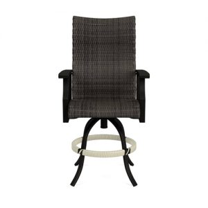 Newport Woven Swivel Balcony Barstool | Newport Woven Collection | Shop | Paddy O' Furniture