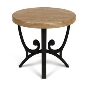 "24"" Round End Table 