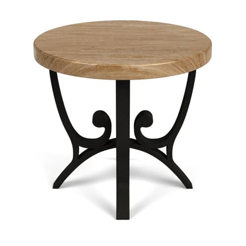 "24"" & 30"" ROUND END TABLE"
