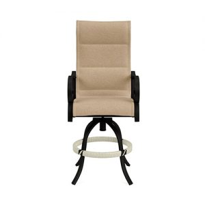 Rancho Padded Sling Swivel Balcony Barstool | Rancho Padded Sling Collection | Shop | Paddy O' Furniture