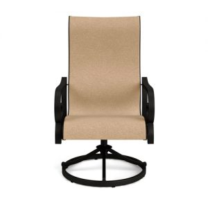 RANCHO SLING SWIVEL DINING CHAIR