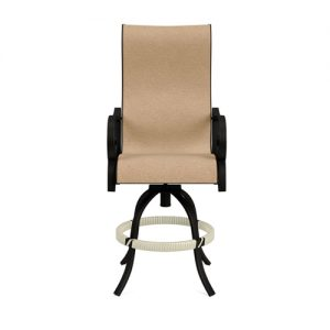 Rancho Sling Swivel Balcony Barstool | Rancho Sling Collection | Shop | Paddy O' Furniture