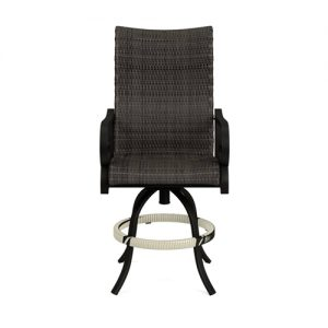 Rancho Woven Swivel Balcony Barstool | Rancho Woven Collection | Shop | Paddy O' Furniture