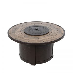 48″ Round Firepit with Lid - Java | Shop | Paddy O' Furniture