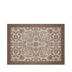 "5' 3"" X 7' 4"" Outdoor Rug (Florence - Mocha) 