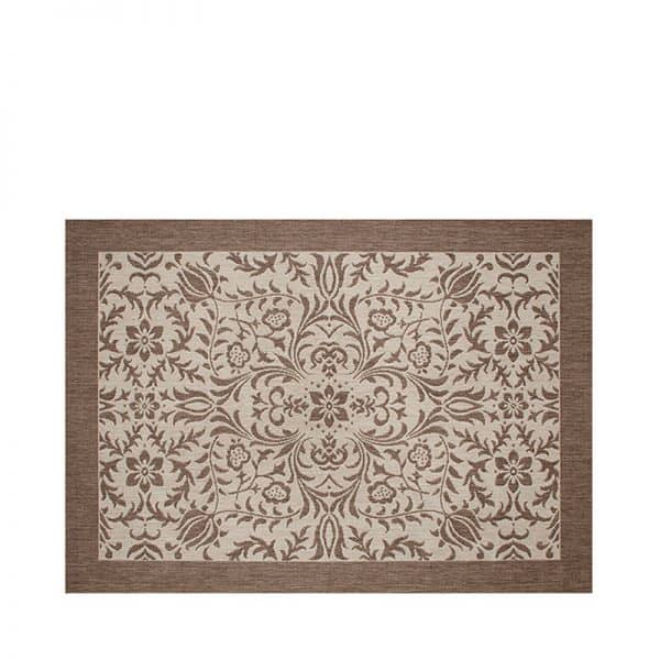 """5' 3"""" X 7' 4"""" Outdoor Rug (Florence - Mocha) 