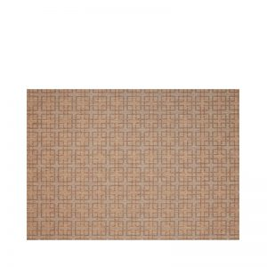 "7' 10"" X 10' Outdoor Rug (Lattice - Teak & Black) 