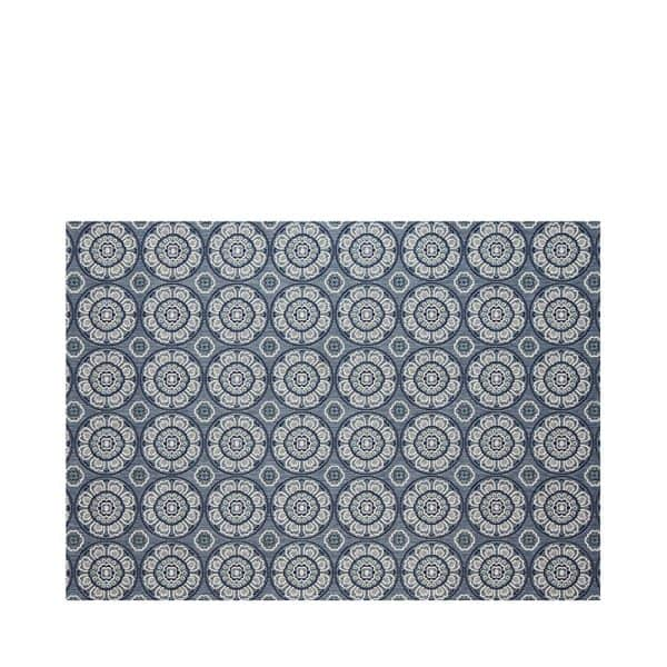 "7' 10"" X 10' Outdoor Rug (Meridian - Steel Blue) 