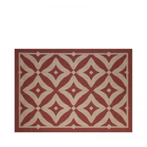 "7' 10"" X 10' Outdoor Rug (Charleston - Henna) 