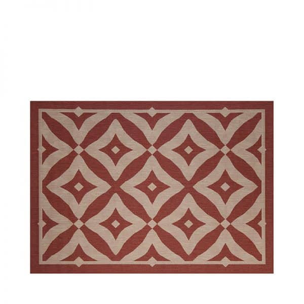 """5' 3"""" X 7' 4"""" Outdoor Rug (Charleston - Henna) 