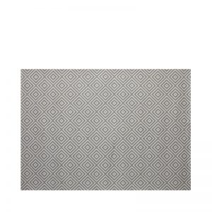 "5' 3"" X 7' 4"" Outdoor Rug (Athens - Silver) 