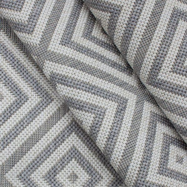 Closeup of Athens - Silver Rug | Shop Patio Accessories & Rugs | Paddy O' Furniture