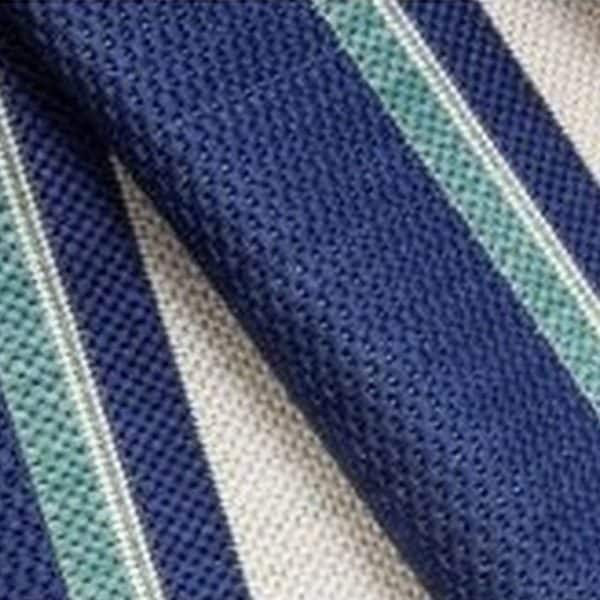 Closeup of Hampton Bay - Blue Rug | Shop Patio Accessories & Rugs | Paddy O' Furniture
