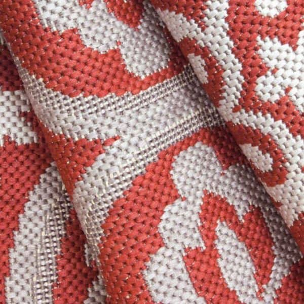 Closeup of Mosaic - Ruby Rug | Shop Patio Accessories & Rugs | Paddy O' Furniture