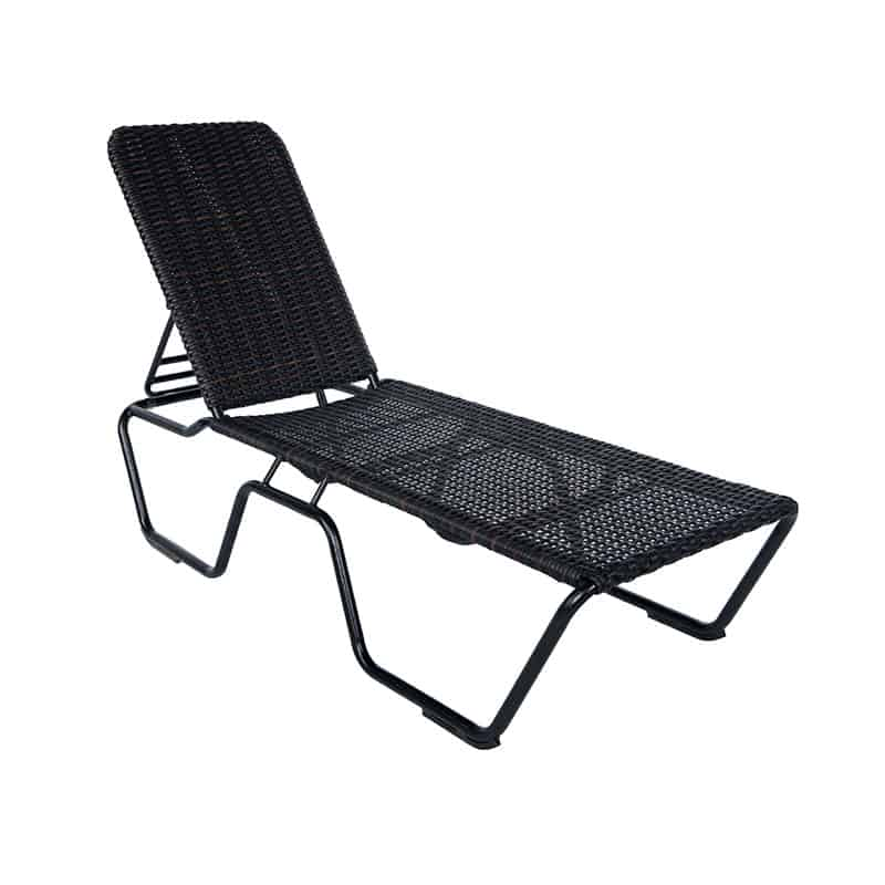 Woven Stackable Chaise Lounge | Tent Sale | Paddy O' Furniture
