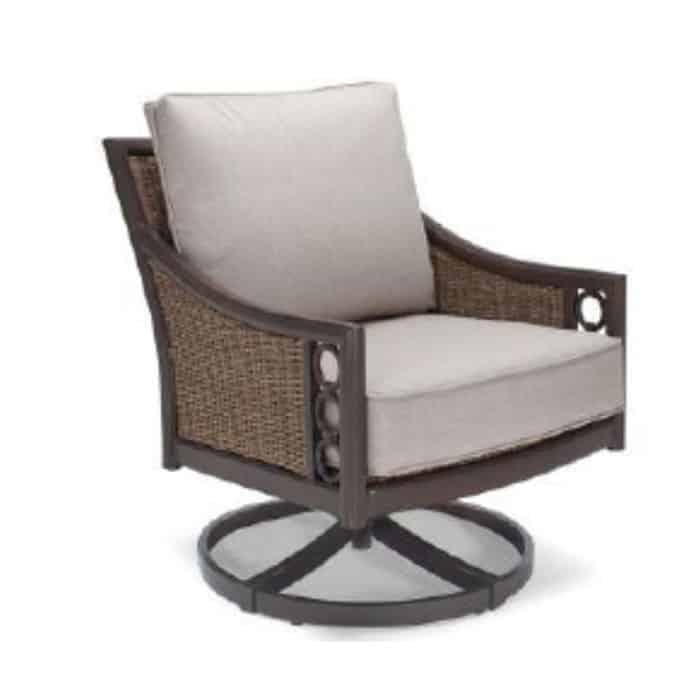 Avignon Club Swivel Rocker w/ Sunbrella Cushion